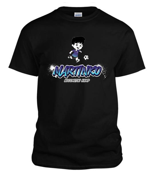 Majica otroška Martinko 2020 - črna