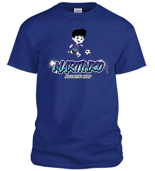 Majica otroška Martinko 2020 - modra